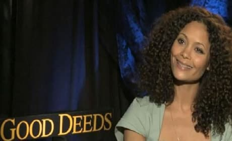 Good Deeds Exclusive: Thandie Newton Video Interview