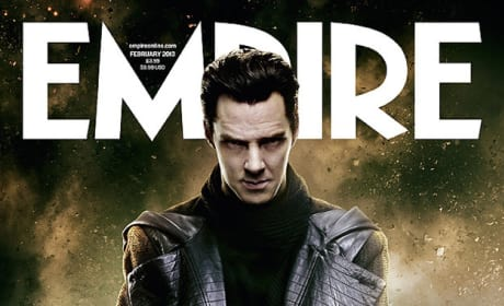 Benedict Cumberbatch Star Trek Into Darkness Empire Cover