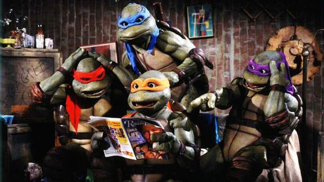 TMNT Movie Followed Comic & TV Series