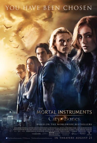 Mortal Instruments: City of Bones Movie Poster