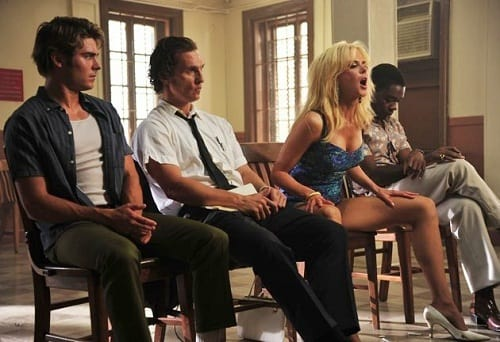 Zach Efron, Nicole Kidman and Matthew McConaughey in The Paperboy