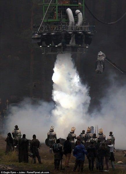 Thor: The Dark World Set Photo