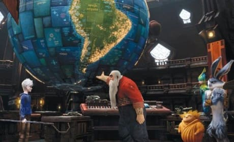 Rise of the Guardians Clip: Jack Frost Tours Santa's Workshop