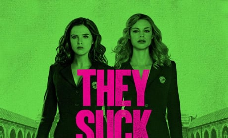 Vampire Academy Poster: They Suck at School!