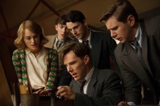 The Imitation Game Benedict Cumberbatch Keira Knightley