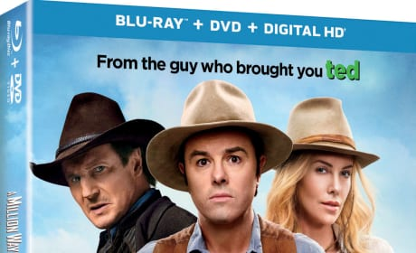 A Million Ways to Die in the West DVD and Bonus Features: Revealed!