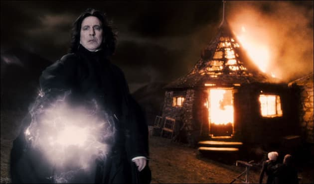 Snape in Action