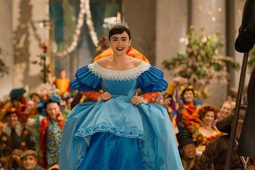 Lily Collins Stars in Mirror Mirror