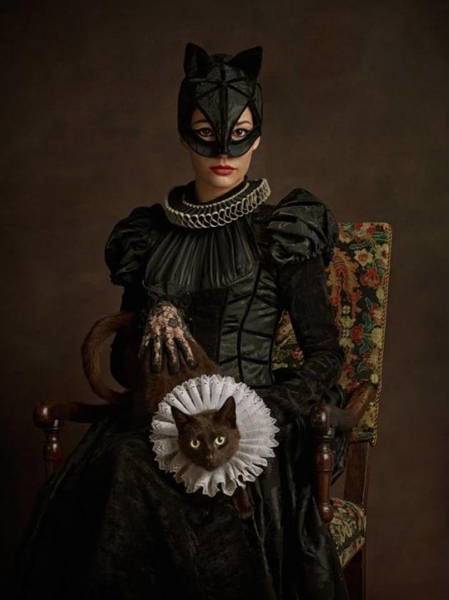 Catwoman As Renaissance Subject