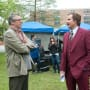 Adam McKay Will Ferrell Anchorman 2 Set