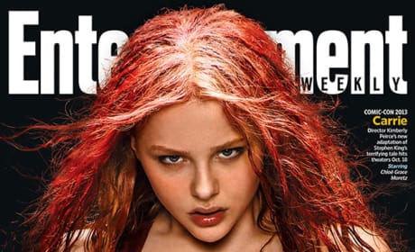 Entertainment Weekly Carrie Comic-Con Cover
