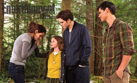 Bella, Renesme, Edward and Jacob