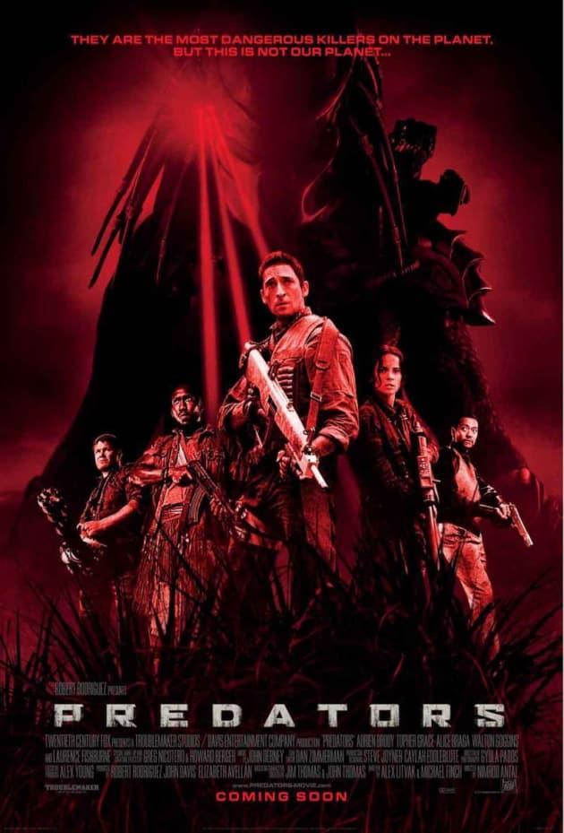 Predators International Poster Red