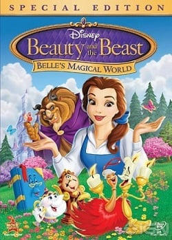 Beauty and the Beast: Belle's Magical World Blu-Ray