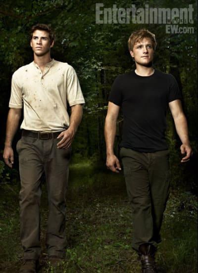 Peeta and Gale Take a Walk in the Woods