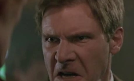 Harrison Ford's Best Angry Movie Moments!