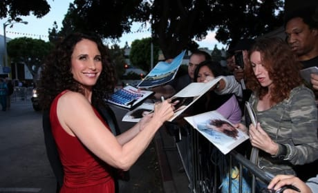 Andie MacDowell at the Footloose Premiere