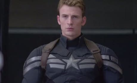 Captain America: The Winter Soldier Star Chris Evans