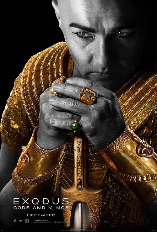 Exodus: Gods and Kings Joel Edgerton Poster