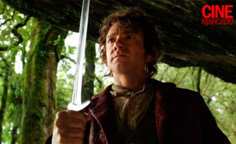 Bilbo Baggins in The Hobbit: An Unexpected Journey