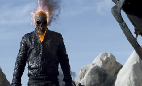 Nicolas Cage is Ghost Rider in Spirit of Vengeance