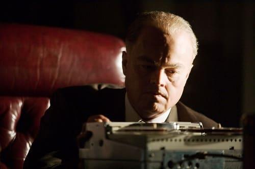 Leonardo DiCaprio is J. Edgar Hoover