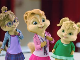 Brittany, Eleanor and Jeanette are the Chipettes