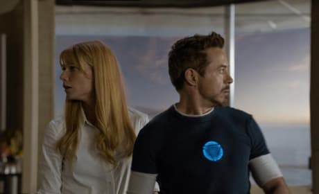 Gwyneth Paltrow Robert Downey Jr. Iron Man 3