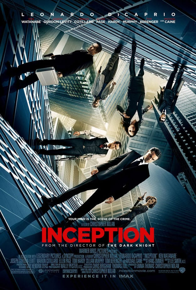 Inception IMAX poster