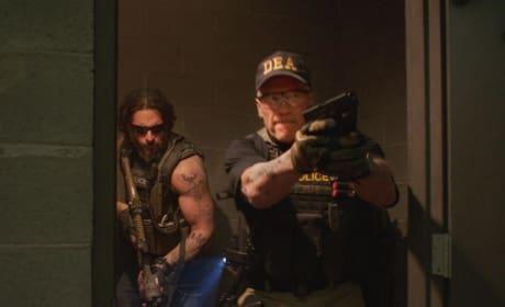 Sabotage Joe Manganiello Arnold Schwarzenegger