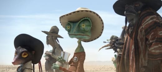 Rango In The Desert