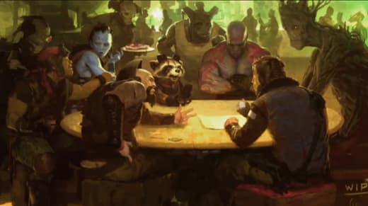Concept Art for Guardians of the Galaxy