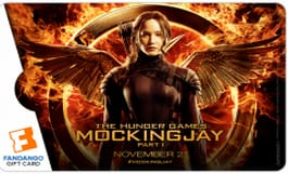 Mockingjay Part 1 Fandango Gift Card