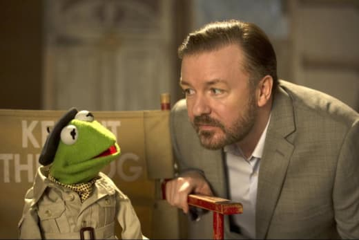 Muppets Most Wanted Constantine Ricky Gervais