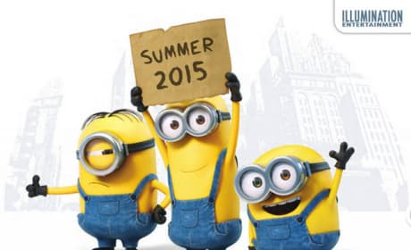 Minions Teaser Art: Yellow Is the New Black!