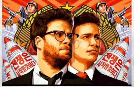 James Franco Seth Rogen The Interview Poster