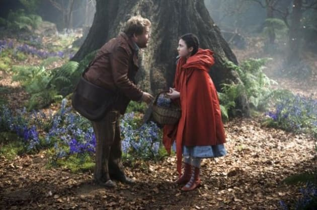 Into the Woods James Corden Lilla Crawford