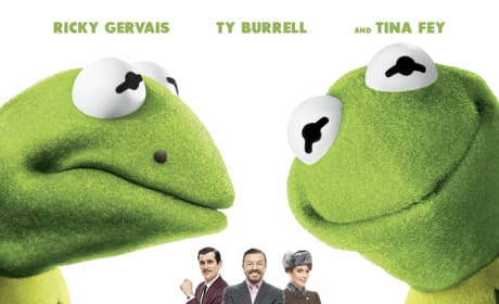 Muppets Most Wanted Poster: Tale of Two Kermits