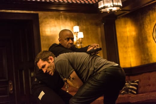 The Equalizer Denzel Washington Action Photo