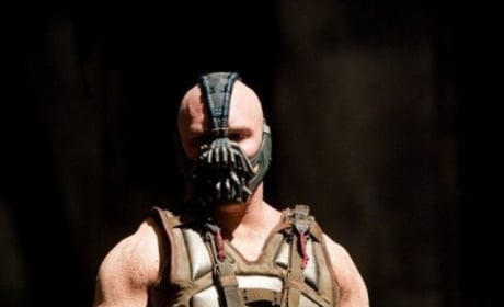 Tom Hardy is Bane