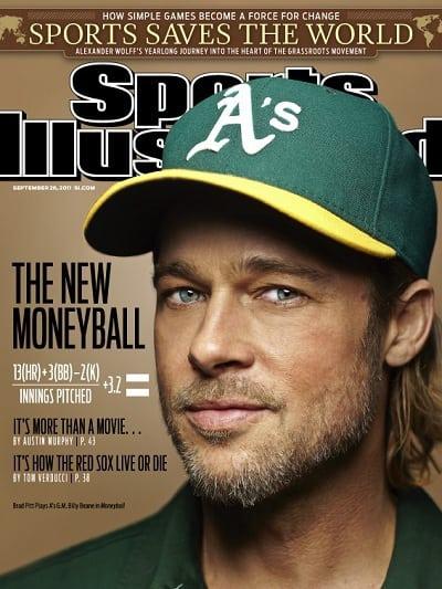 Brad Pitt's Moneyball SI Cover