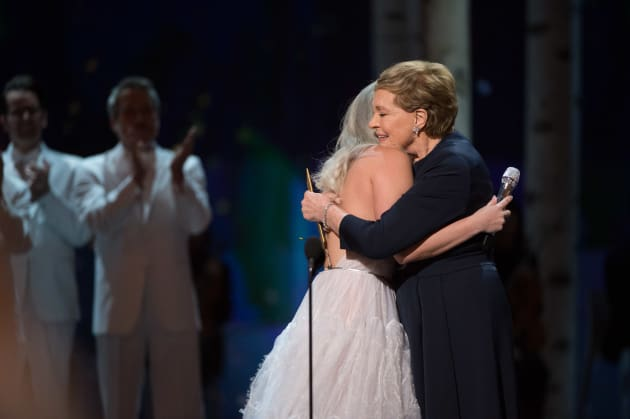 Oscars Lady Gaga Julie Andrews