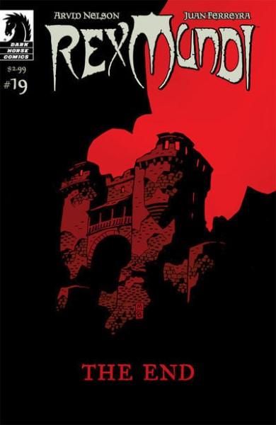 Rex Mundi Comic Book Cover