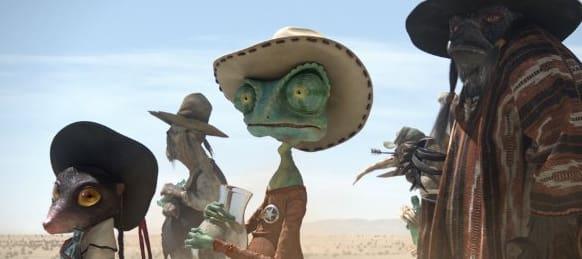 Rango In The Desert