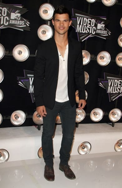 Taylor Lautner at the MTV VMAs
