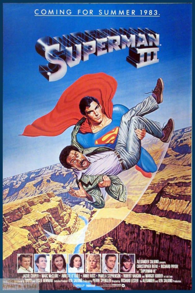 Superman III Poster