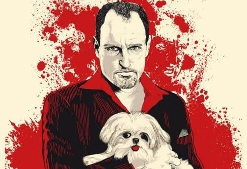 Woody Harrelson Seven Psychopaths Poster