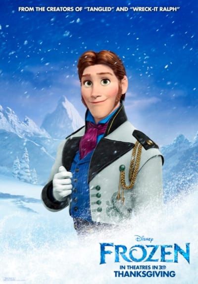 Frozen Duke of Weselton Poster