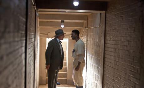 Harrison Ford Chadwick Boseman 42