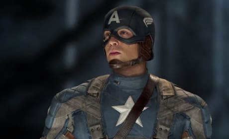 Captain America Full Suit